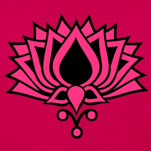 LOTUS FLOWER/ 2c / symbol of the enlightenment / LOTOS Tee shirts - T-shirt manches longues Premium Femme