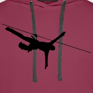 ropes course T-Shirts - Men's Premium Hoodie