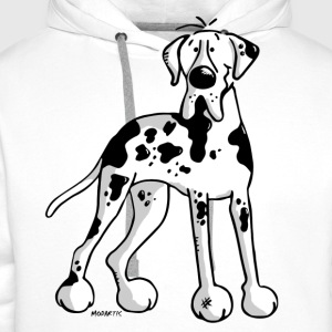 Dogue allemand -  Grand Danois - Great Dane -Chien Tee shirts - Sweat-shirt à capuche Premium pour hommes
