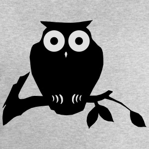 owl on branch T-Shirts - Men's Sweatshirt by Stanley & Stella