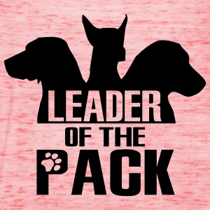 Leader of the pack - 3 dogs T-Shirts - Women's Tank Top by Bella