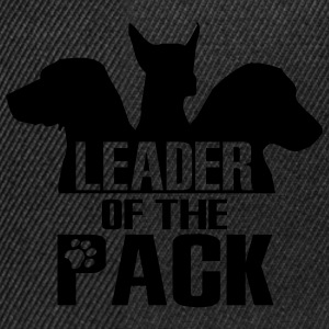 Leader of the pack - 3 dogs T-Shirts - Snapback Cap