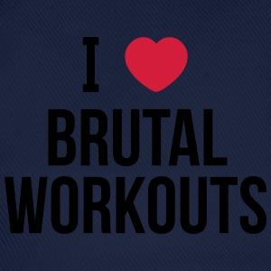I love brutal workouts Tee shirts - Casquette classique