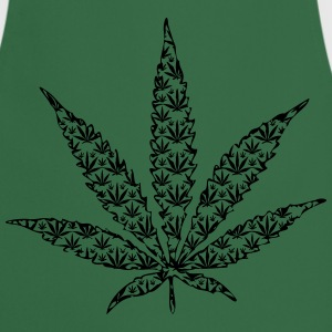 cannabis leaf T-shirts - Keukenschort