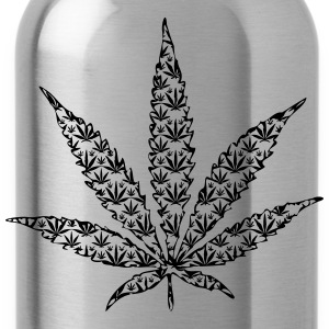 cannabis leaf T-shirts - Drinkfles