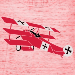 Fokker Roter Baron Red Air Combat First World War  Camisetas - Camiseta de tirantes mujer, de Bella