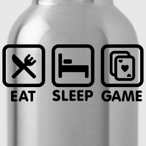 Eat - Sleep - Game poker T-shirts - Drinkfles