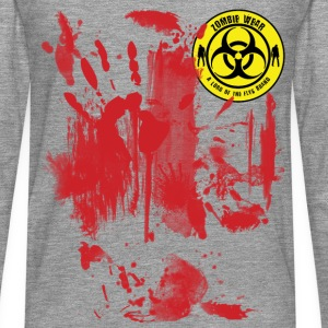 Zombie Wear Bloody  Tee shirts - T-shirt manches longues Premium Homme