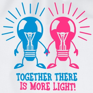 Together there is more light T-Shirts - Drawstring Bag