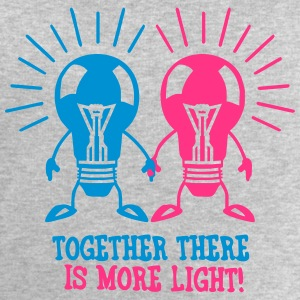 Together there is more light T-Shirts - Men's Sweatshirt by Stanley & Stella