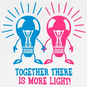 Together there is more light T-Shirts - Baseball Cap