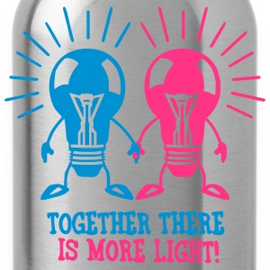 Together there is more light T-Shirts - Water Bottle