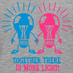 Together there is more light T-Shirts - Men's Premium Longsleeve Shirt