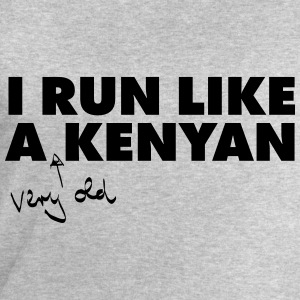 I Run Like A (Very Old) Kenyan T-Shirts - Men's Sweatshirt by Stanley & Stella