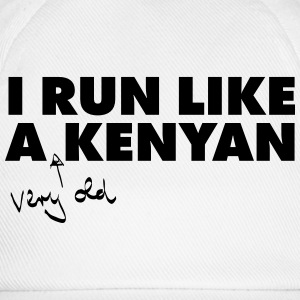 I Run Like A (Very Old) Kenyan T-Shirts - Baseball Cap