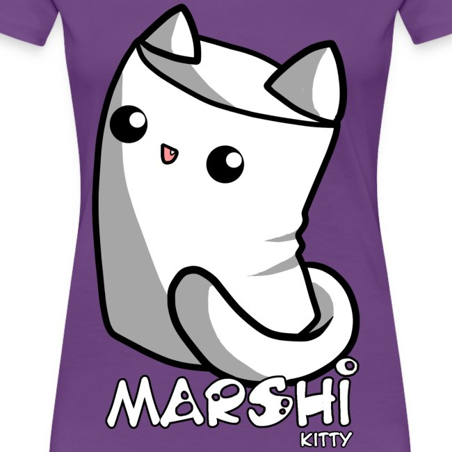Marshi Kitty Marshmallow by Chosen Vowels - Shirt