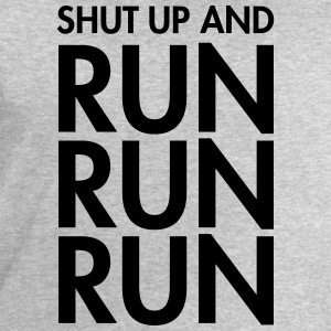 Shut Up And Run Run Run T-shirts - Sweatshirt herr från Stanley & Stella