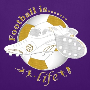 Football is life soccer Shirts - Tote Bag