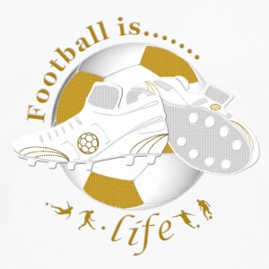 Football is life soccer Bottles & Mugs - Men's Premium Longsleeve Shirt