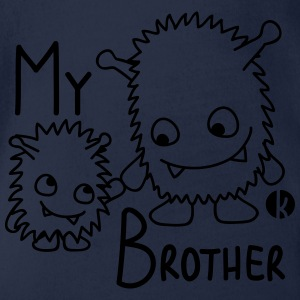 My Brother Pullover & Hoodies - Baby Bio-Kurzarm-Body