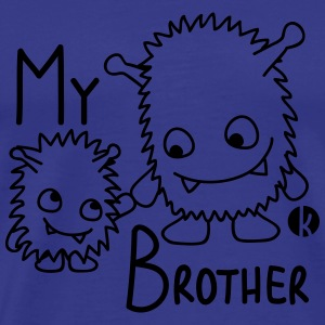 My Brother Sweatshirts - Herre premium T-shirt