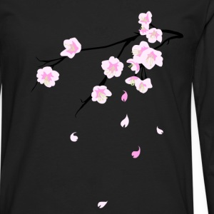 Cherry Blossoms T-Shirts - Men's Premium Longsleeve Shirt