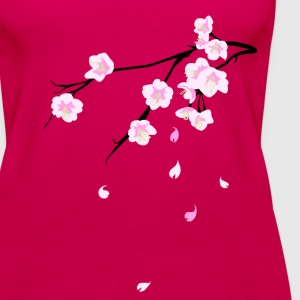 Cherry Blossoms T-Shirts - Women's Premium Tank Top