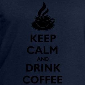 Keep Calm And Drink Coffee Tee shirts - Sweat-shirt Homme Stanley & Stella