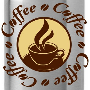 Coffee Logo Camisetas - Cantimplora