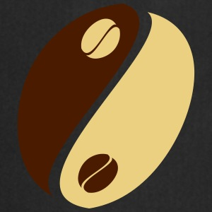 Coffee Bean Yin Yang T-shirts - Förkläde