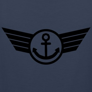 Anchor Logo T-Shirts - Männer Premium Tank Top