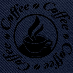 Coffee Logo Tee shirts - Casquette snapback