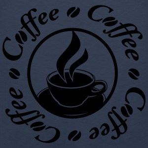 Coffee Logo T-shirts - Mannen Premium tank top