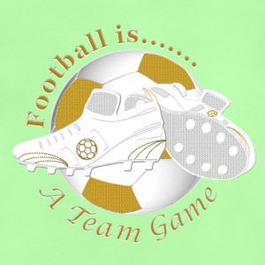 Football is a soccer team game Shirts - Baby T-Shirt