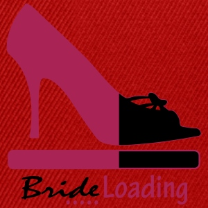 Bride Loading T-Shirts - Snapback Cap
