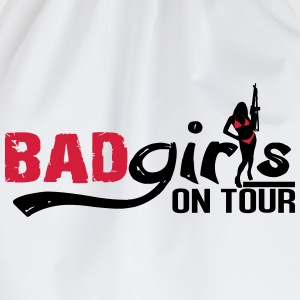 Bad girls on tour T-Shirts - Drawstring Bag