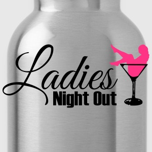 ladies night out Camisetas - Cantimplora