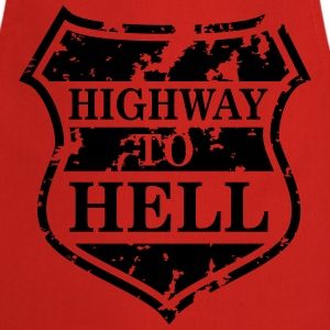 Highway to Hell T-shirts - Förkläde