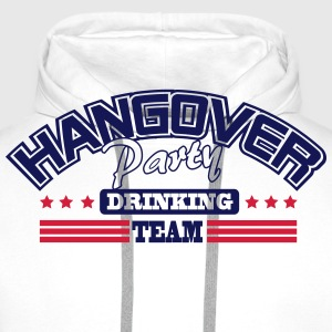 Hangover Party drinking team T-Shirts - Männer Premium Hoodie