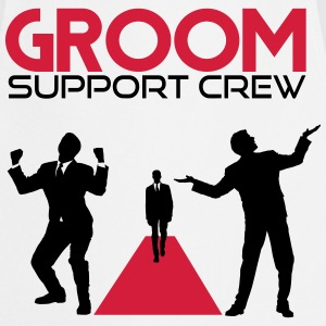 Groom support Crew T-Shirts - Cooking Apron
