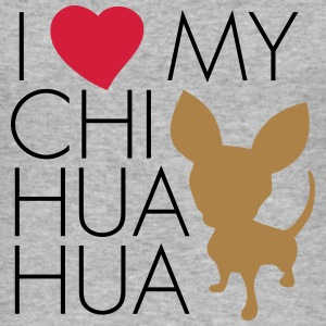 love_my_chihuaua Hoodies & Sweatshirts - Men's Slim Fit T-Shirt