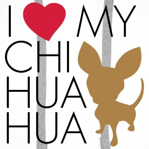 love_my_chihuaua T-Shirts - Men's Premium Hoodie