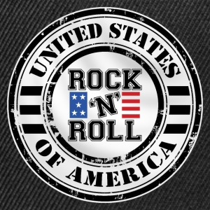 Rock'n'Roll design Tee shirts - Casquette snapback