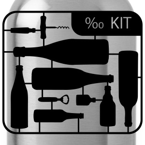 Kit botella Alcohol  Camisetas - Cantimplora