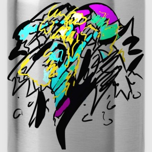 Color explosion - Water Bottle