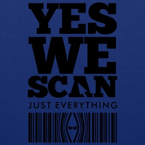 YES WE SCAN T-Shirts - Stoffbeutel