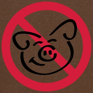 No Pig Flesh T-Shirts - Shoulder Bag