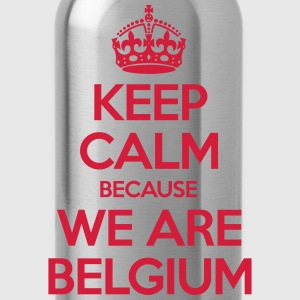Keep Calm Because We Are Belgium Tee shirts - Gourde