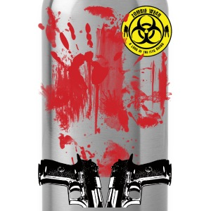 Zombie Wear Bloody  T-Shirts - Trinkflasche
