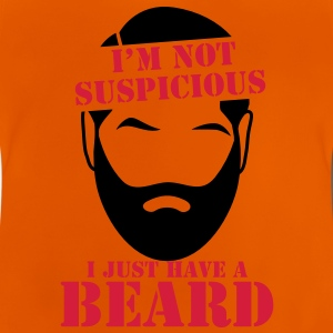 I'm not SUSPICIOUS I just have a BEARD! Shirts - Baby T-Shirt
